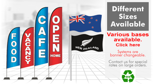 generic advertising flags, commercial advertising flags