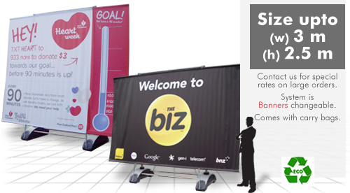 Contact Displays Portable Display Stands Products Portable Billboard Roll Up