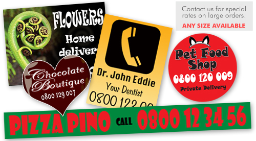 promotional magnets, car magnets, business card magnets, redrigerator magnets-picture
