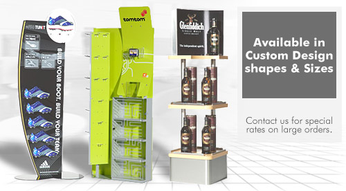 Contact Displays Portable Display Stands Products SHOP DISPLAYS Enchanting Product Displays Stands